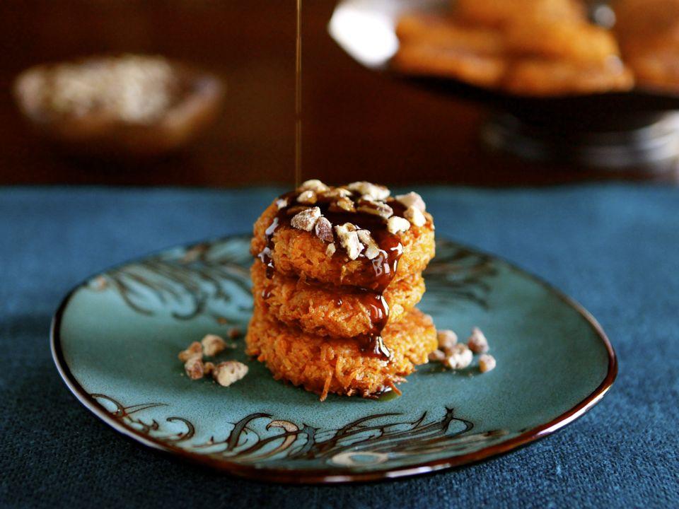 Sweet Potato Latkes Recipe Sweet Potato Latkes With Brown
