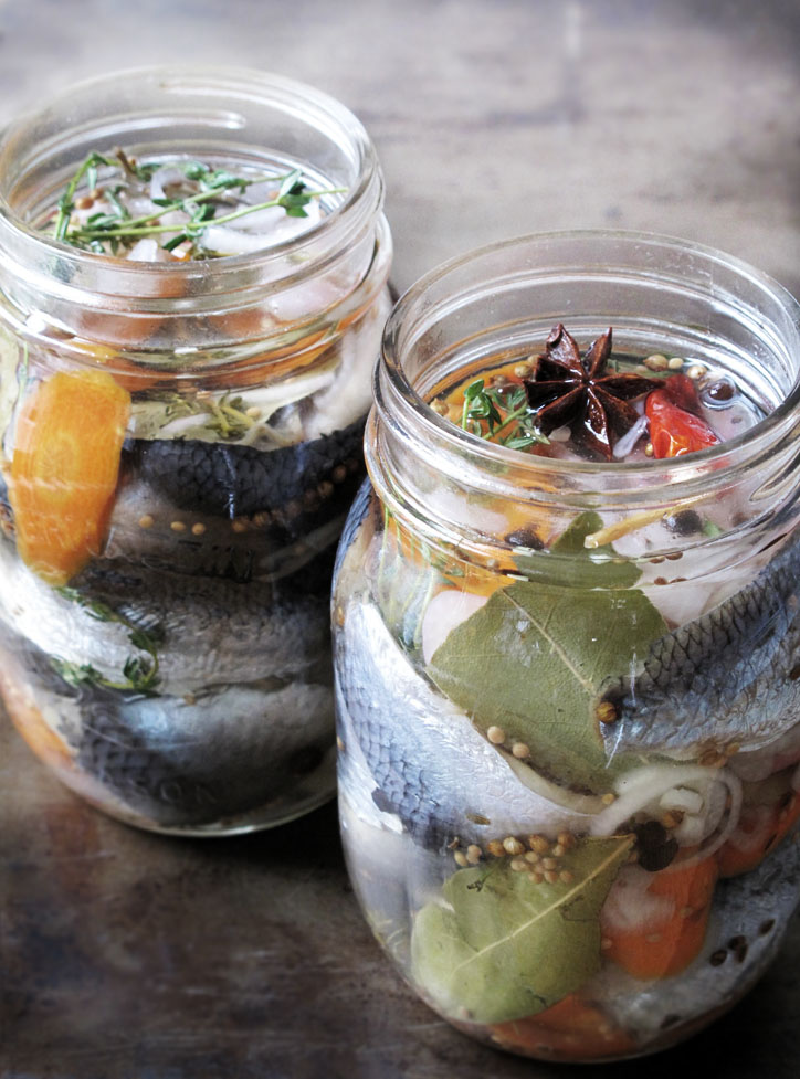 7 edible ways to get lucky this new year brit co for Pickled fish recipe