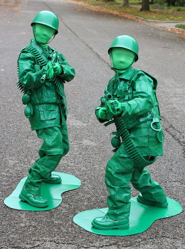 Toy Soldiers For Boys : And the halloween costume contest winners are