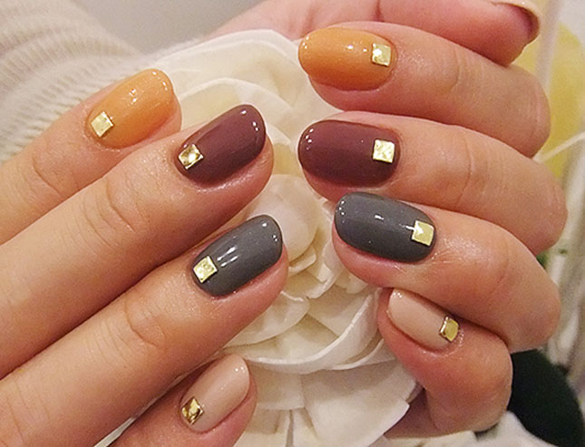 12 2 Thanksgiving Nail Art Designs For Beginners Diy Easy Fall Nails