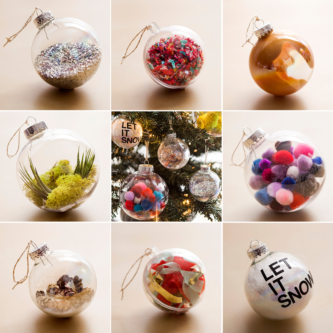The ultimate holiday hack ornaments in minutes brit