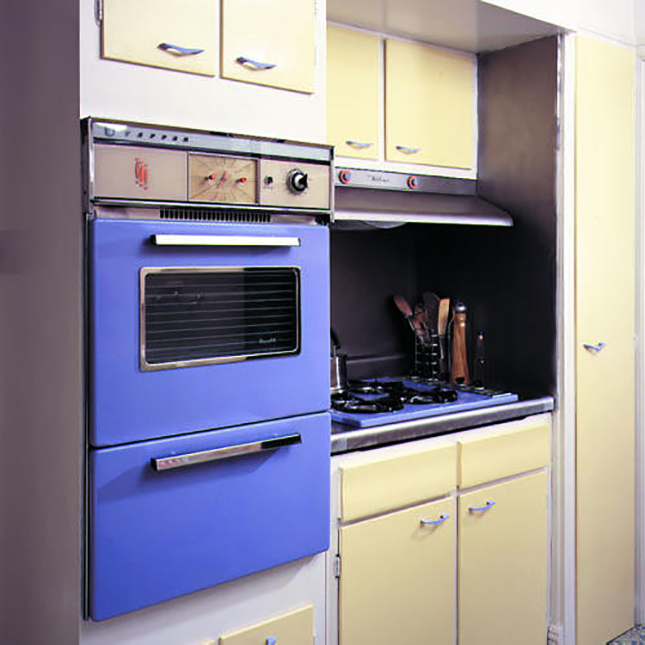 My New Favorite Way To Paint Kitchen Cabinets: 15 Ways To Make Ugly Appliances Cute