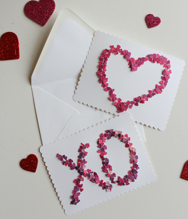 We Heart These 14 DIY Valentine's Day Cards | Brit + Co