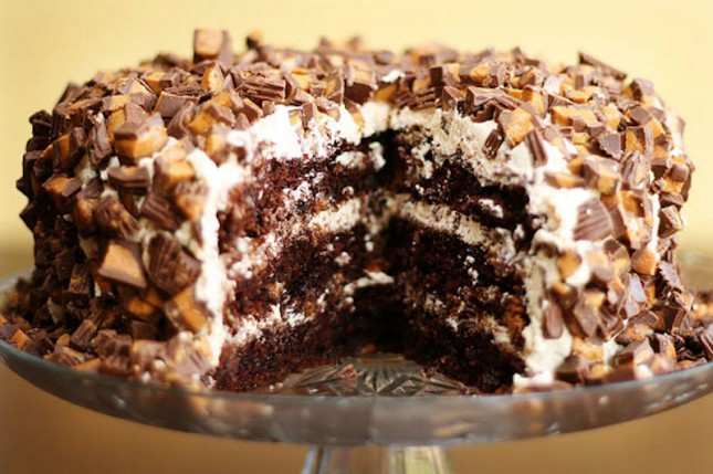 Two Layer Chocolate Cake Recipe Using Butter