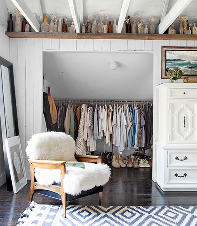closet ideas for attic bedrooms - The 18 Most Beautiful Attics You'll Ever See