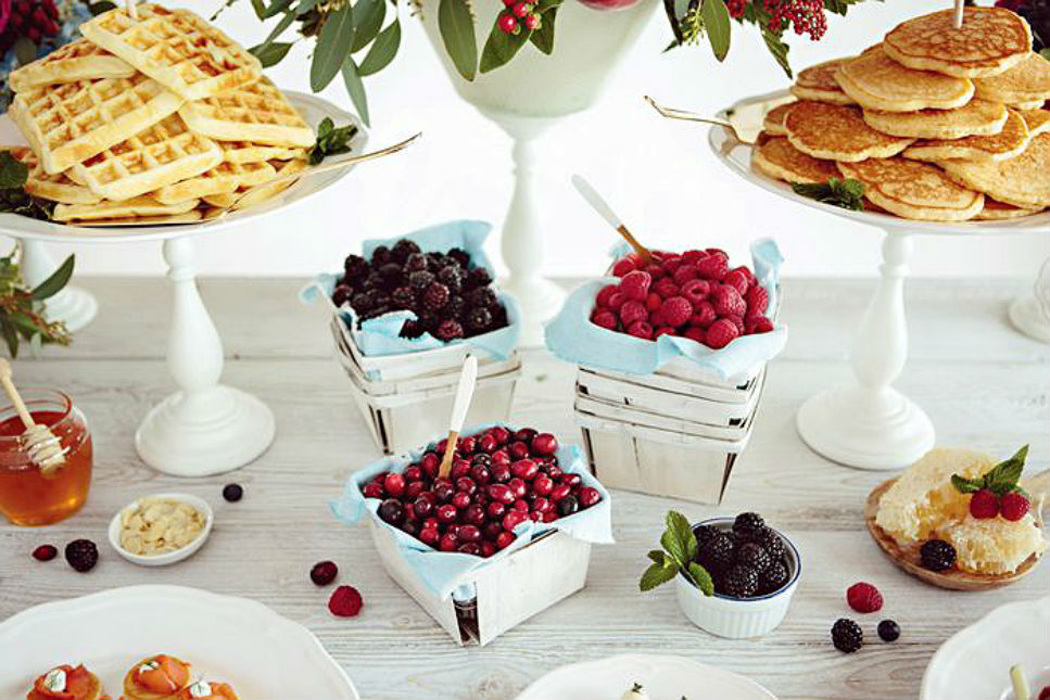 Think Outside The Dessert Table 23 Fresh Food Stations