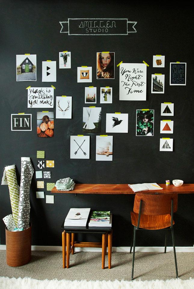 Studio inspiration wall 64021