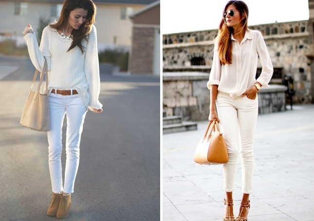 How To Wear A Black And White Blouse 118