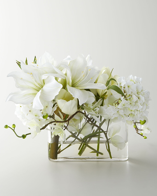 Modern faux flower arrangements brit co