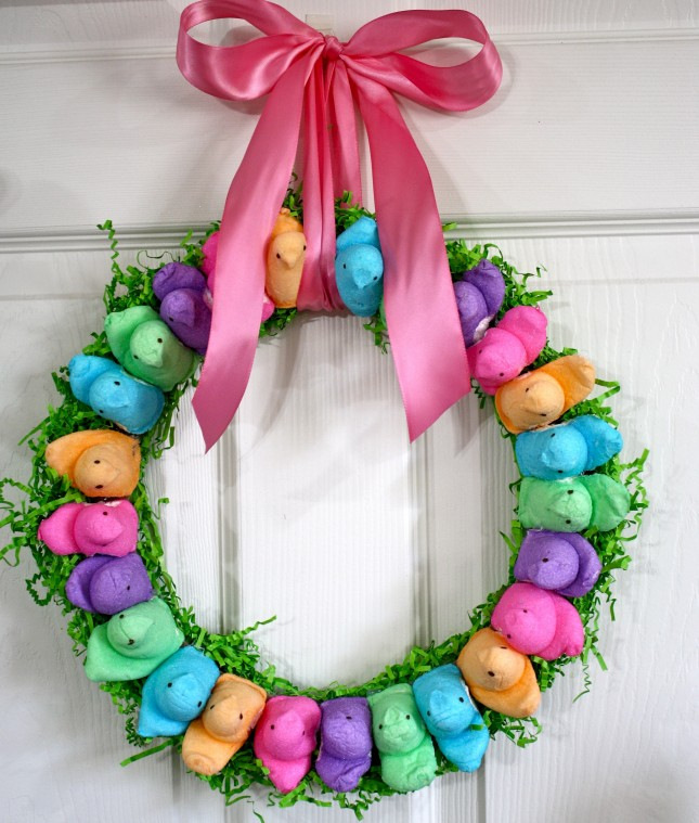 12 steps to an epic easter brunch brit co for How to make a spring wreath from scratch