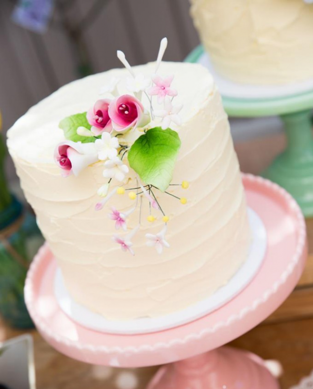 garden baby shower cake a simple elegant cake for your afternoon