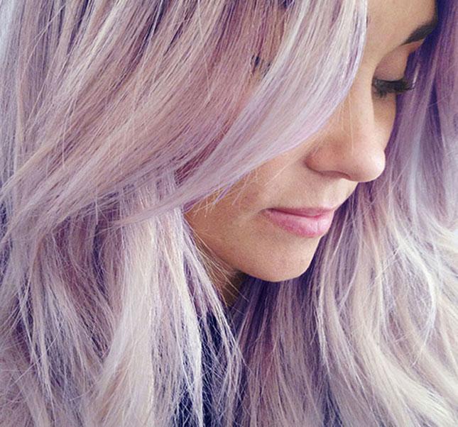 12 purple waterfall long purple hair don t care
