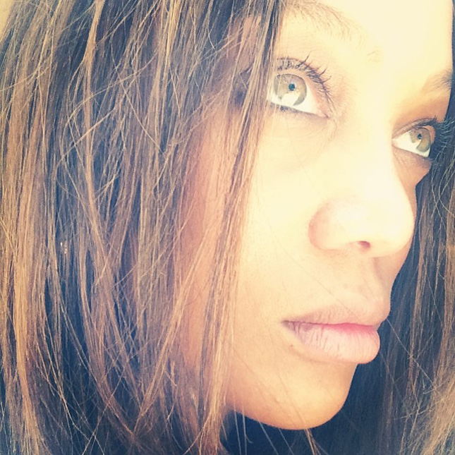Tyra Banks Teenager: 20 Celebrities Who Proudly Posted #NoMakeup Selfies