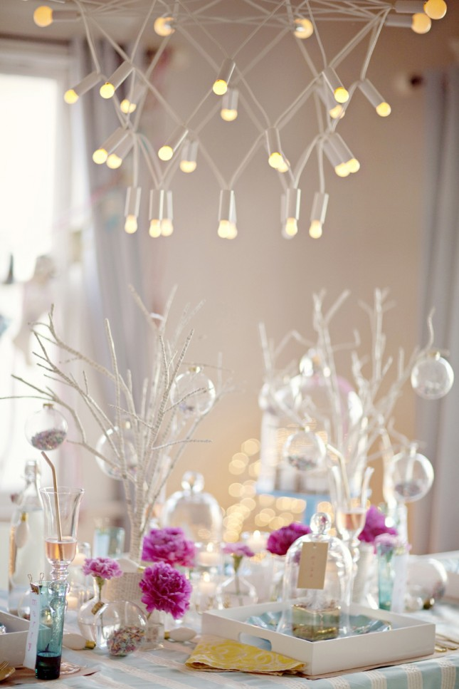 Creative ways to decorate with branches brit co