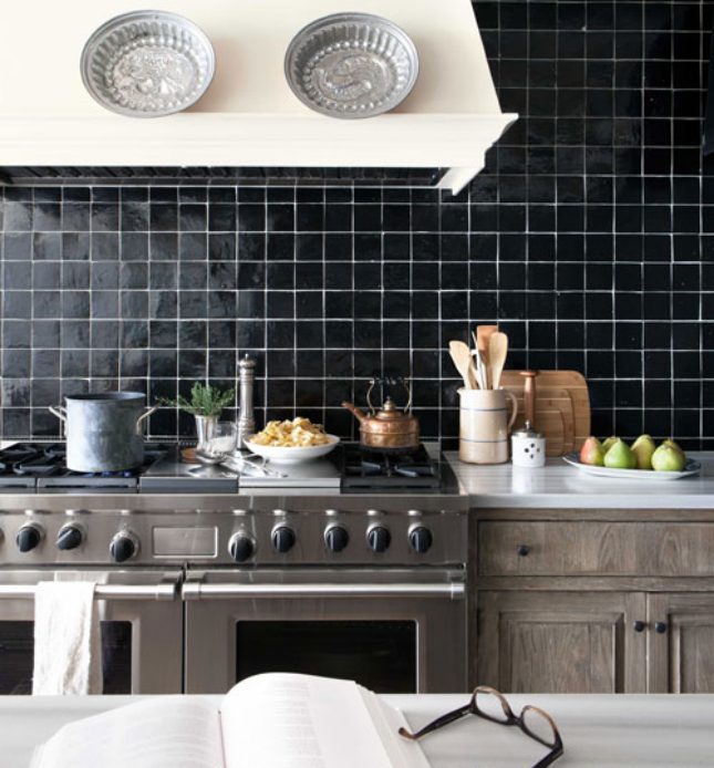 beyond tile 25 truly beautiful kitchen backsplashes black kitchen island with white and gray granite