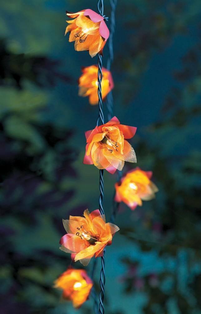 Flower String Lights Nz : 15 Outdoor String Lights to Set the Mood Brit + Co