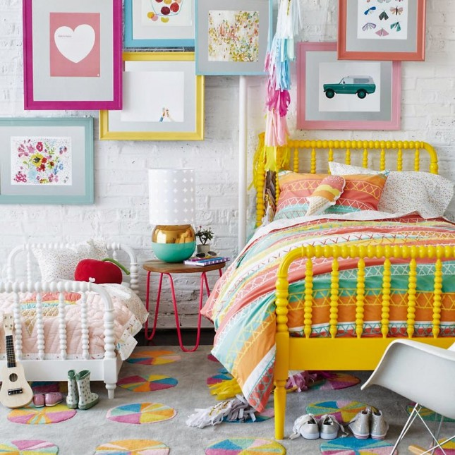 20 Crayola Colorful Rooms For Kids Brit Co