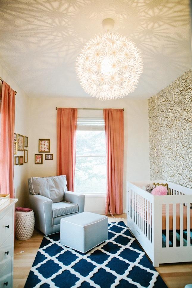 15 Glitzy Gold Ways to Make a Nursery or Kid's Room Shine   Brit + Co