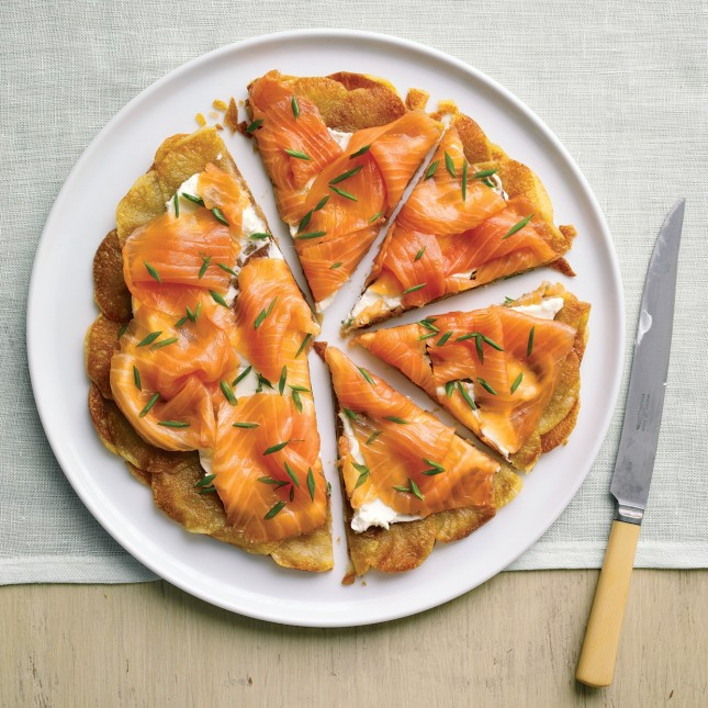 Potato Galette With Smoked Salmon : This pretty galette works ...