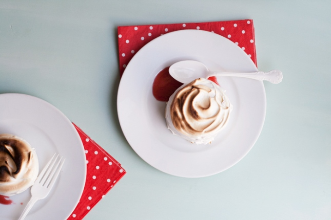 15. Strawberries and Champagne Baked Alaska : We love boozy desserts ...