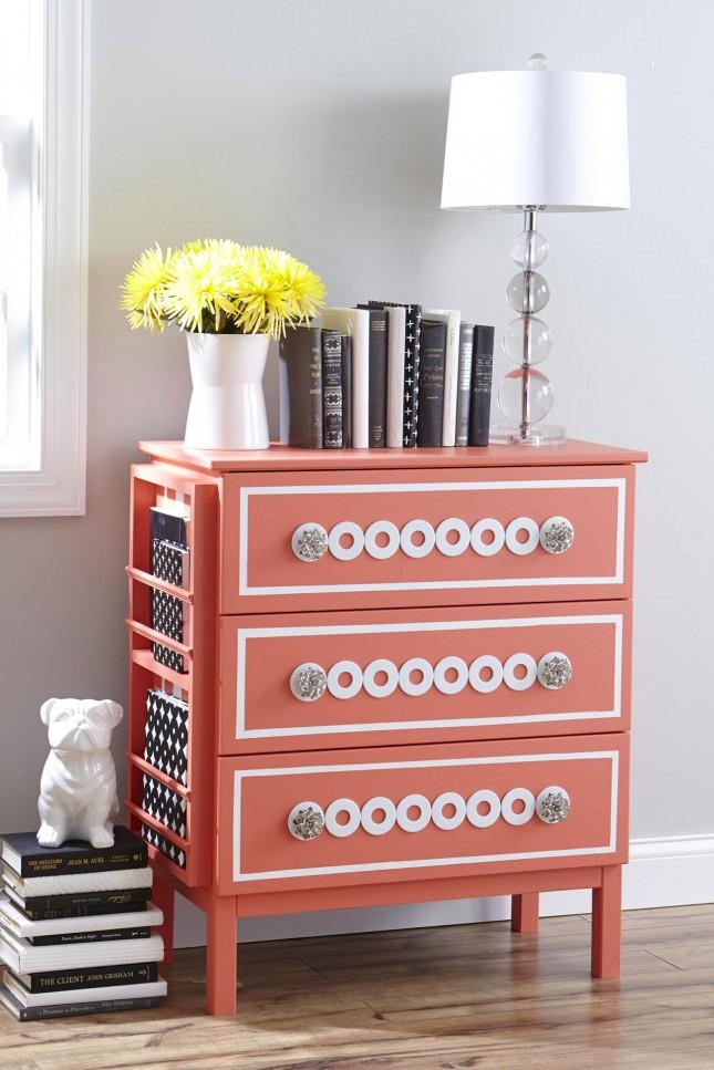 35 of the most colorful ikea hacks ever brit co. Black Bedroom Furniture Sets. Home Design Ideas