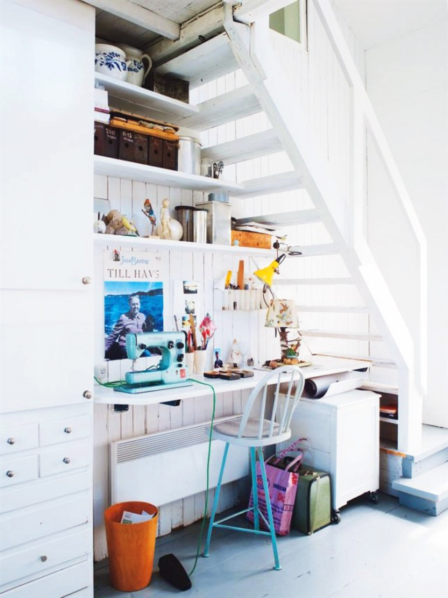 18 Clever Uses For The Space Under Your Stairs Brit Co