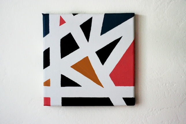 25 pieces of geometric wall art we want now brit co