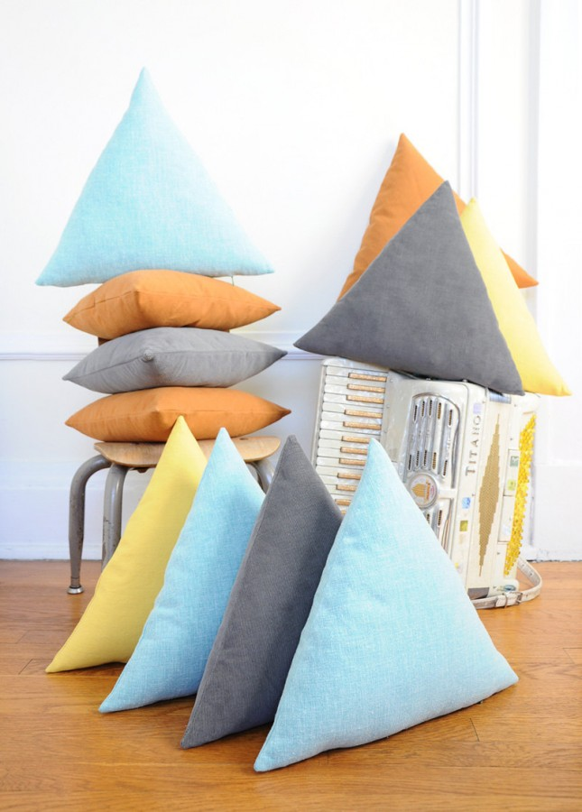 30 Ways To Decorate Your Space With Triangles Brit Co