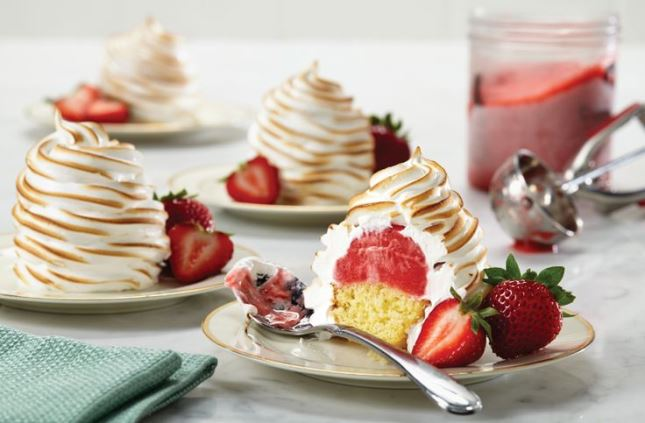 Strawberry Shortcake Baked Alaska : Strawberry shortcake is a ...