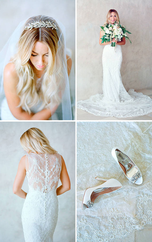 see lauren conrad s wedding dress more pics from her i dos brit