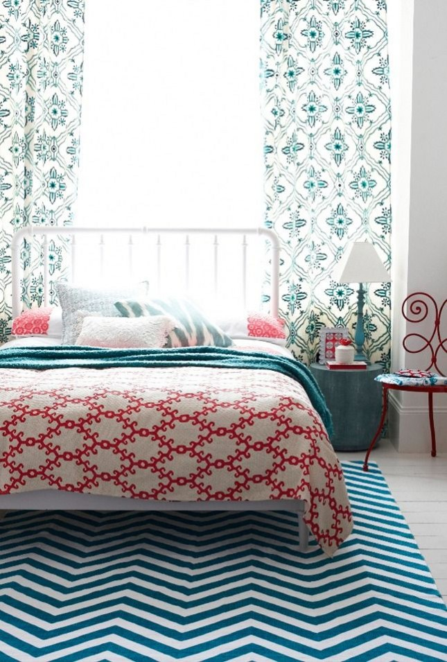 23 Ways to Mix Patterns in Your Home Decor Brit Co