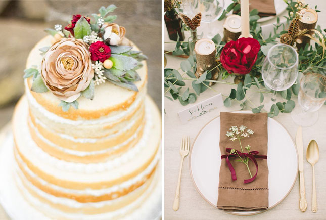 Fall In Love With These 12 Autumn Wedding Color Palettes