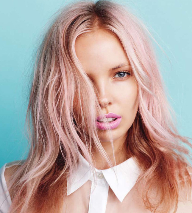 Tipsy tuesday 10 tips to add color to your hair beauty schools pastel pink pmusecretfo Images