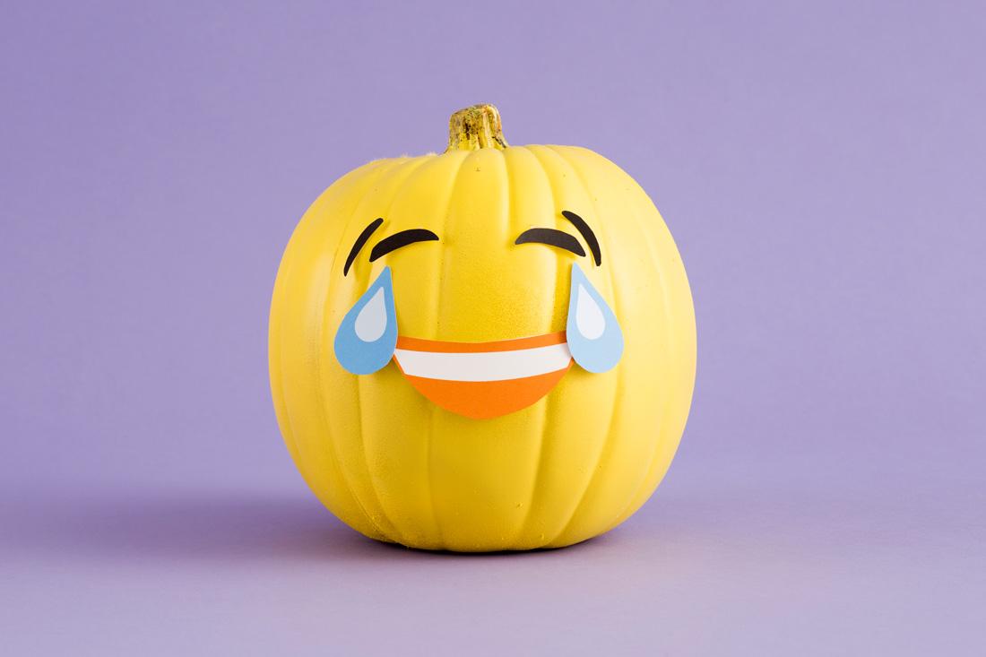 Make Diy Emoji Pumpkins With Our Free Printables Brit Co