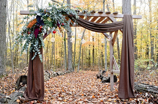 Autumn Arbor : Well, it doesn't get much more festive than this ...