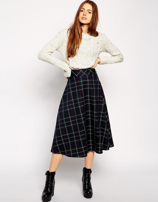 19 ways to wear midi skirts this season brit co
