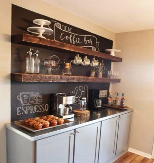 14 Tips For DIYing A Coffee Bar At Home Brit Co