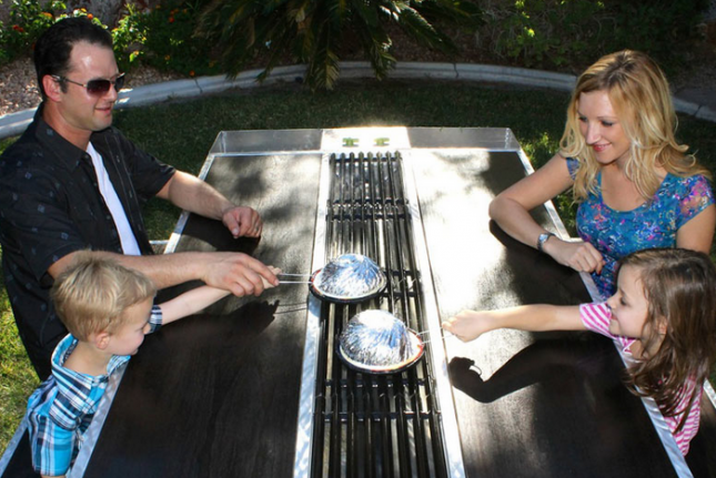 the outdoor grill brings benihana to your backyard brit co