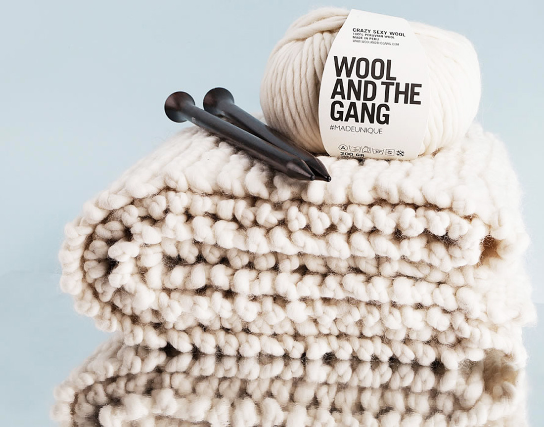 This Woman s Gonna Make You Want to Knit. Hard. Brit + Co