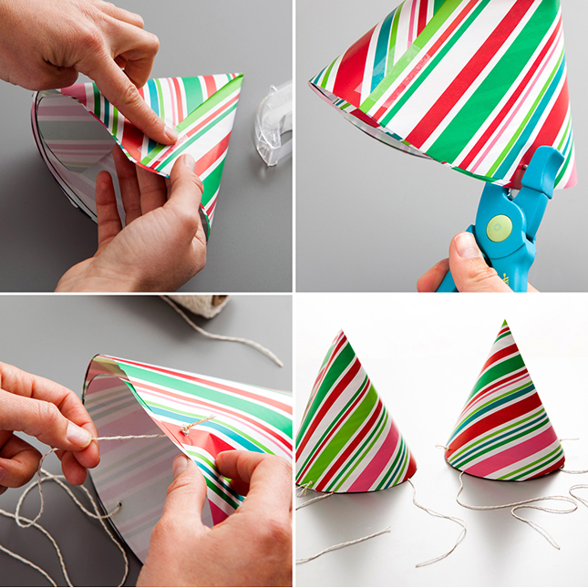 Leftover Wrapping Paper Ideas