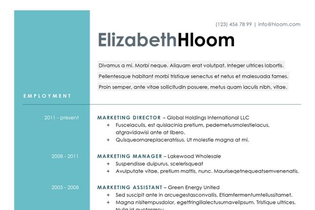 attention grabbing resume templates sle resume