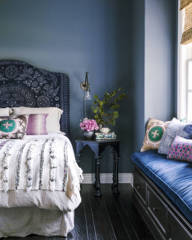 give your bedroom the royal treatment with 15 jewel tone