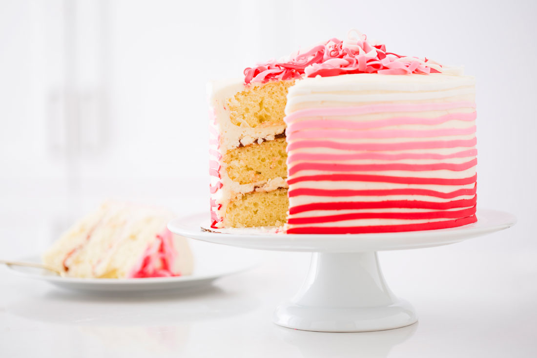 Cake Decorating Fondant Stripes : Stand Mixers FTW: How to Make an Epic Valentine s Striped ...