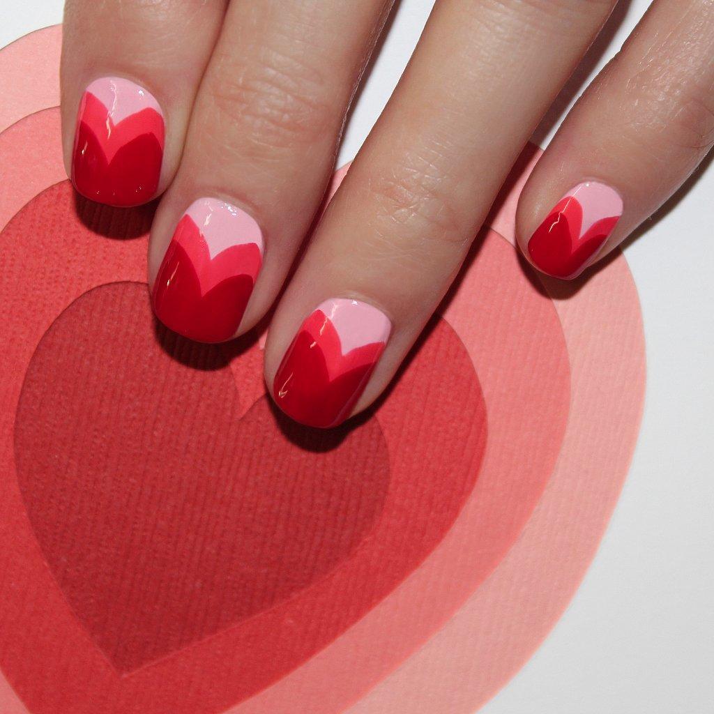 Valentine S Day Nails Art: 16 Valentine's Day Nail Art Designs You'll Heart