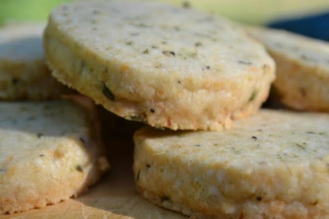 Parmesan Shortbread With Fennel And Sea Salt Recipe — Dishmaps