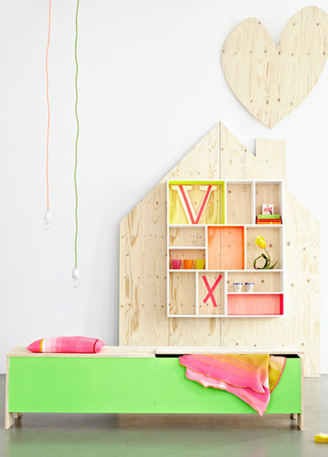 17 Cool Colorful Ways To Organize Your Kids Room Brit