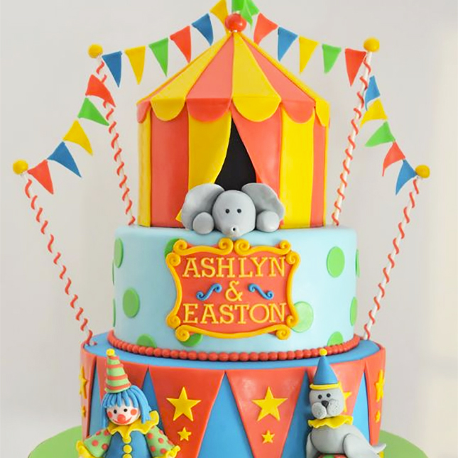 Birthday Cake Ideas for Twins  Brit + Co