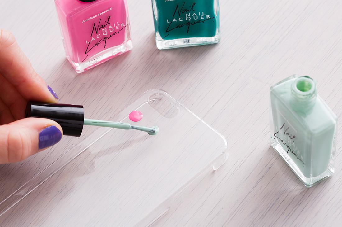Unique Chanel Iphone 5 Case Nail Polish Vignette - Nail Art Ideas ...