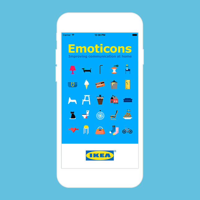 ikea now has emoji so your life is complete brit co. Black Bedroom Furniture Sets. Home Design Ideas