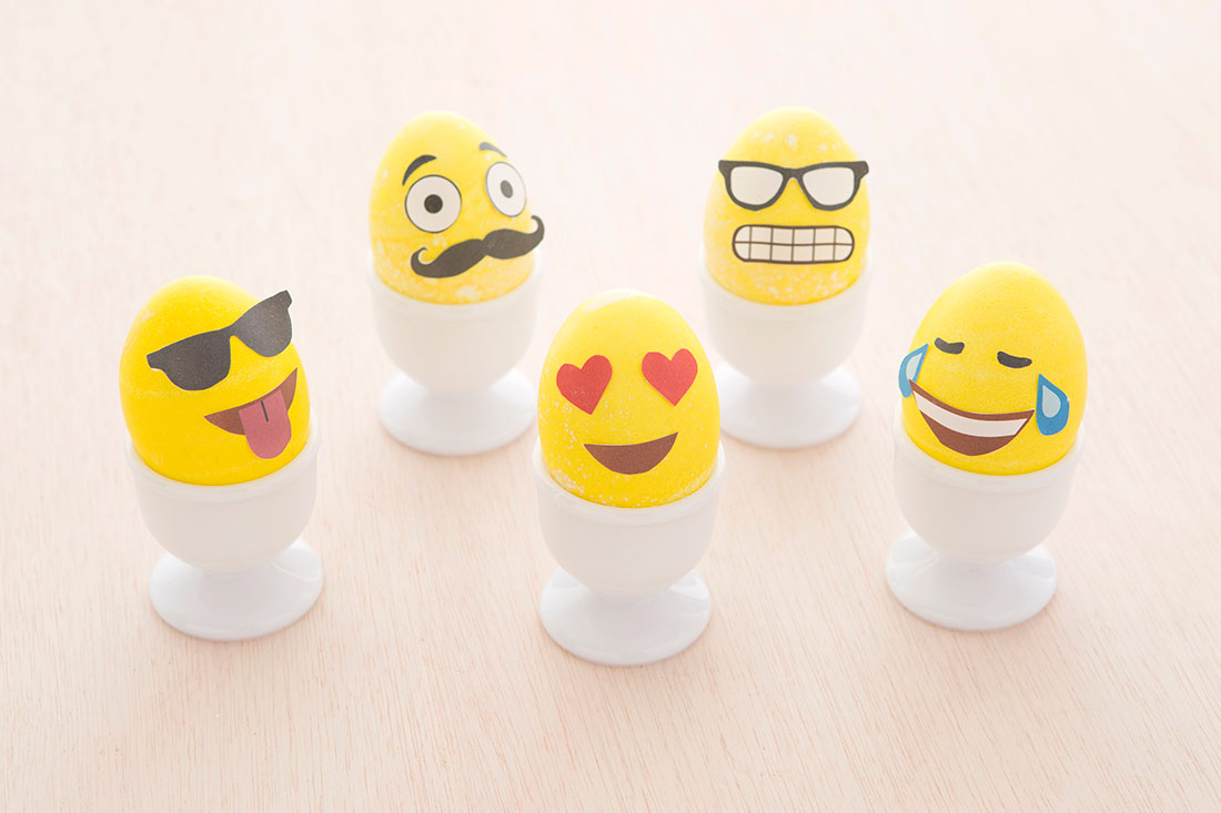 How To Make Emoji Easter Eggs Free Printable Brit Co